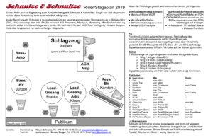 Stageplan Schnulze 2019